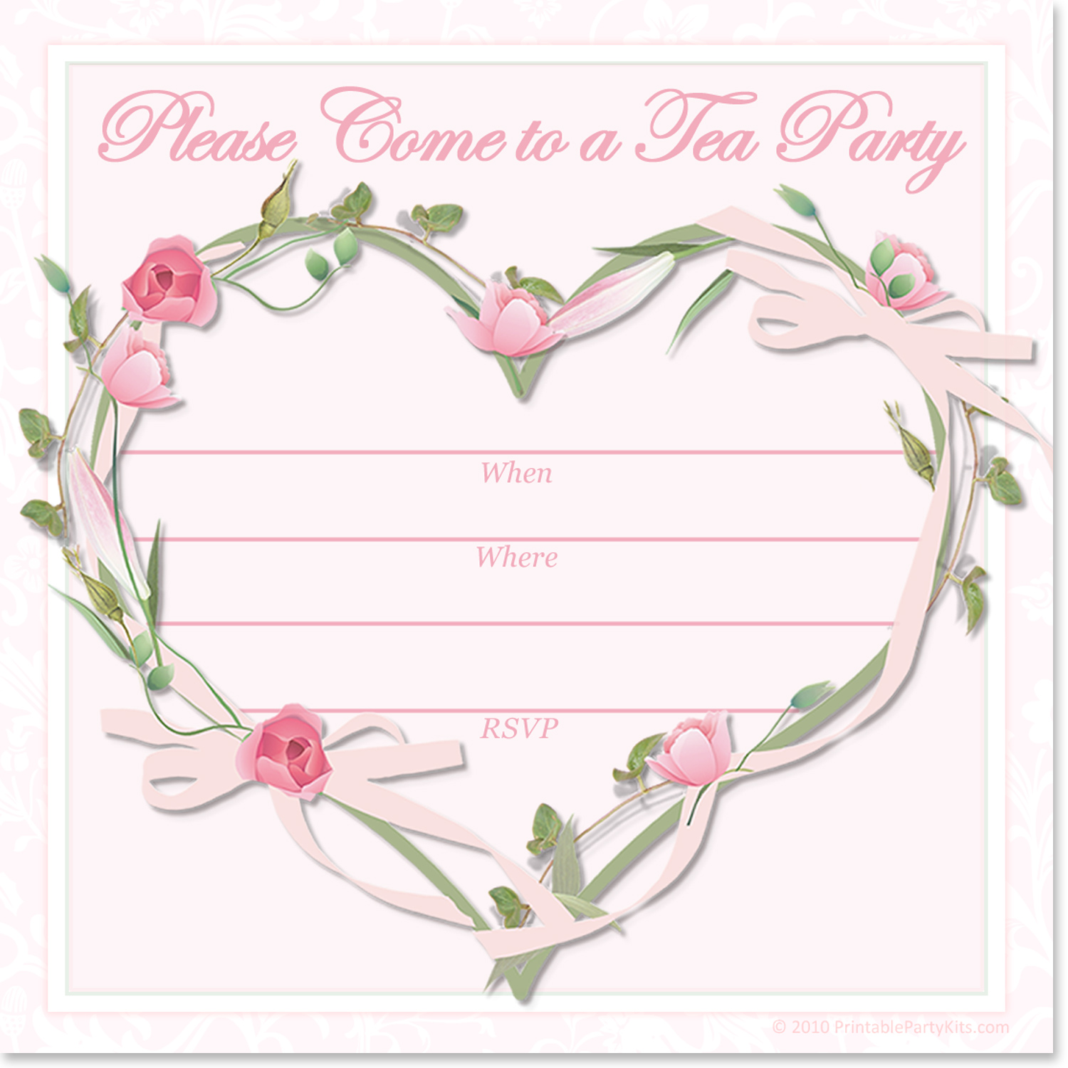 image relating to Free Printable Tea Party Invitation Templates referred to as Cant obtain subsution for tag [article.entire body]--\u003e Absolutely free