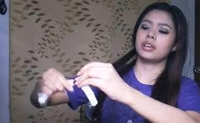 Cách làm tóc xoăn tự nhiên bằng dây chun-2