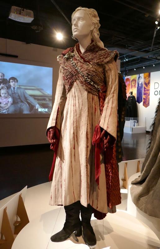 Emilia Clarke Game Thrones Daenerys season 8 costume