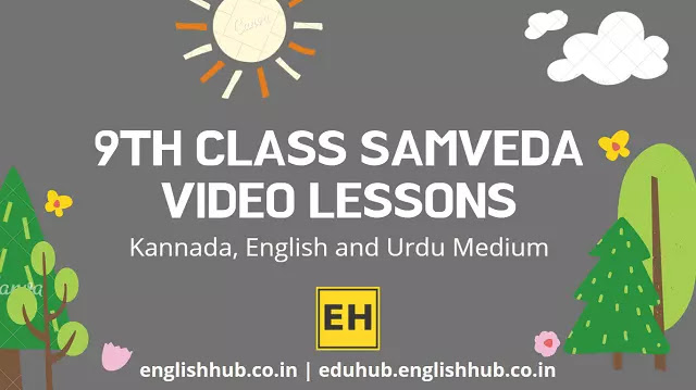 9th Class Samveda YouTube Video Lessons 2021-22