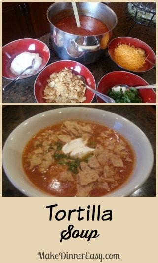 Tortilla Soup #soups #recipes