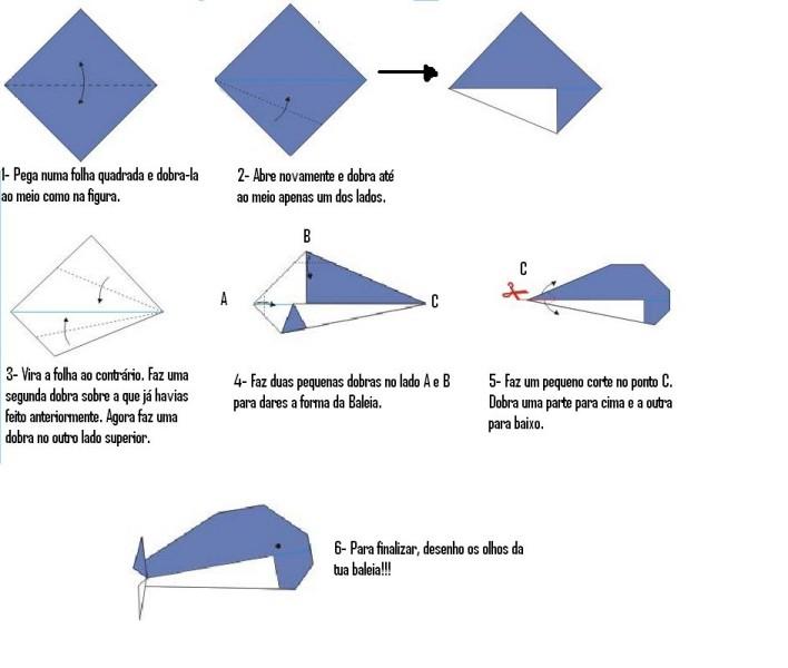 Meros Detalhes Tecnicos: Diagramas Dos Origamis Da Oficina