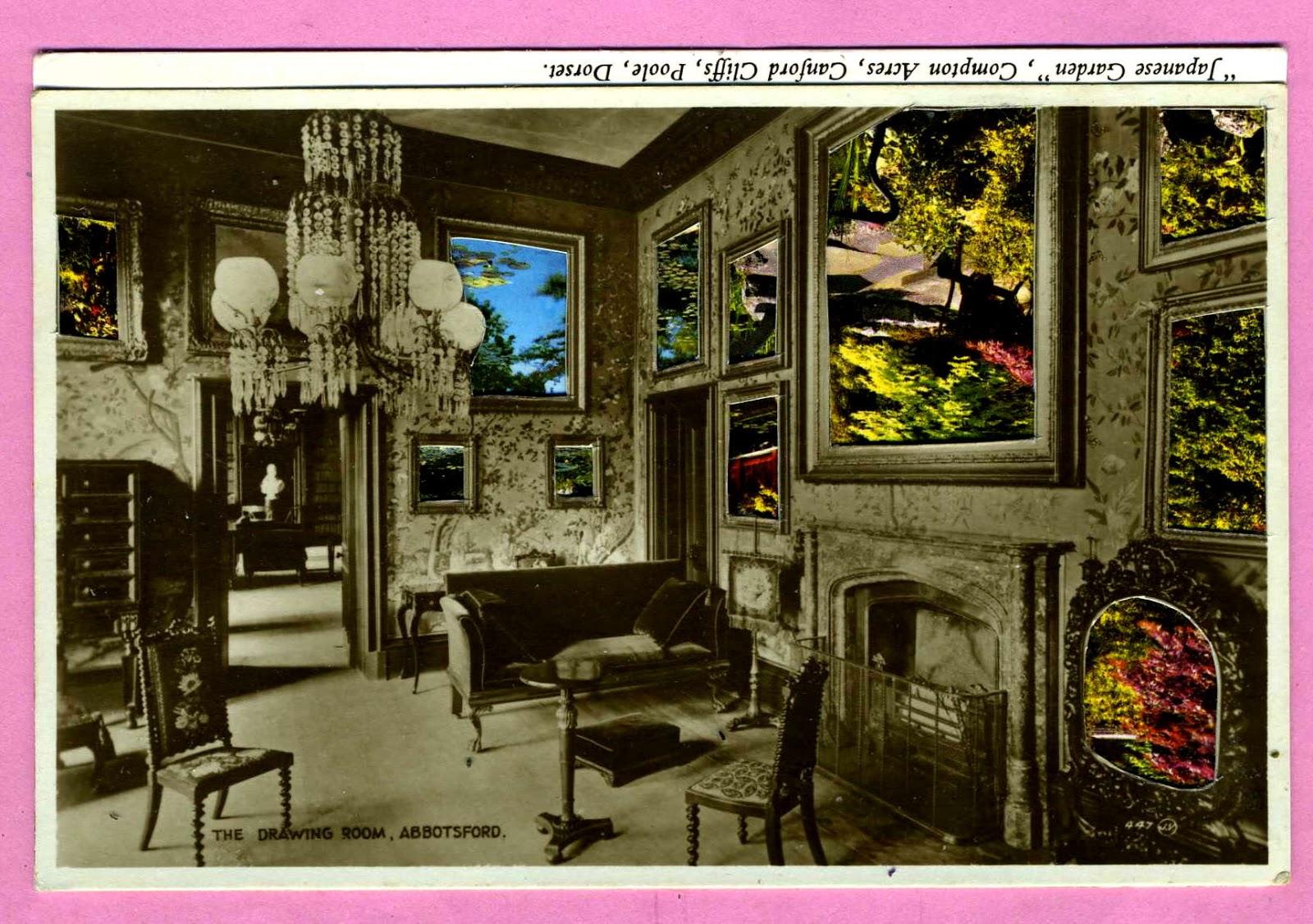 The Kollage Kit: Japanese Garden/ Drawing Room Abbotsford