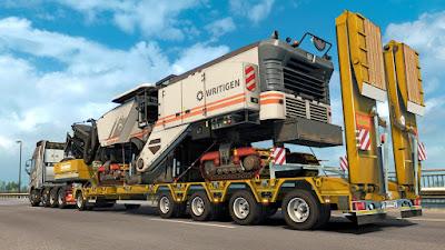 Traffic DLC Heavy Cargo Pack ETS2 1.38 & 1.39 Beta