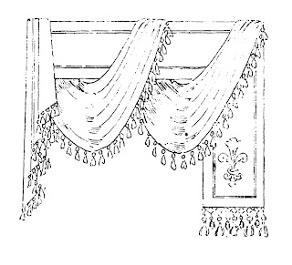 design curtain image vintage