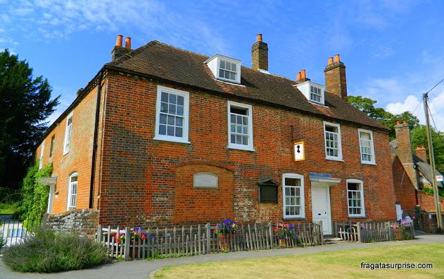 Chalé onde viveu Jane Austen