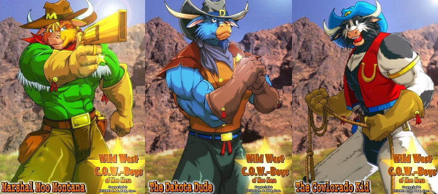 Os Valentes Cowboys de Moo Mesa Torrent Imagem