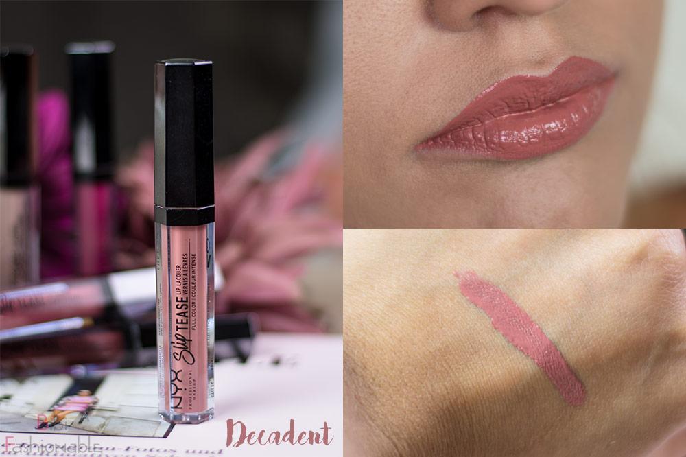 NYX Professional MakeUp Slip Tease Lip Laquer STLL24 Decadent