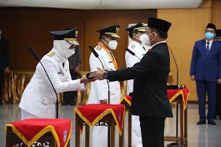 Dirjen Bina Pembangunan Daerah Kemendagri Menjadi Pj Gubernur Jambi.