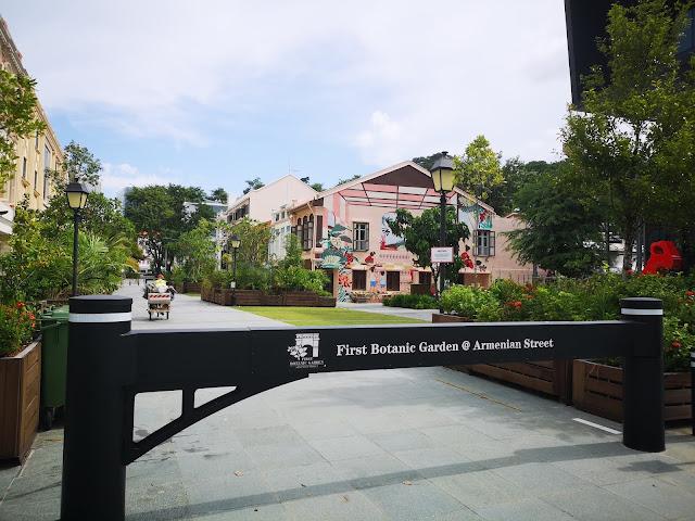 First Botanic Garden at Armenian Street Park