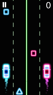 Screen2 Neon 2 Cars Racing – Android App Featured Review Apps