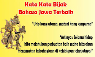 Kata Kata Bijak Bahasa Jawa tentang Kehidupan, Cinta penuh makna