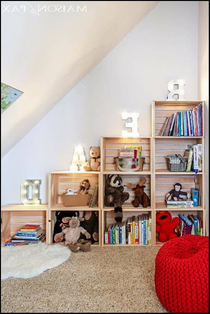 diy bookcase for kids