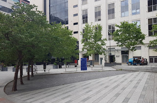 Petanque Piste at Bond Court in Leeds City Centre