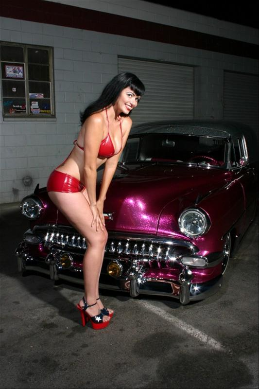 Cool Cars With Naked Girls