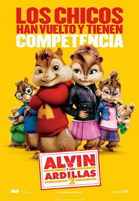 Alvin and the Chipmunks:The Squeakquel [2009] [DVD R1] [Latino]