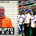 """(VIDEO) Al grito de """"Camacho corrupto"""", un grupo de organizaciones realizó una protesta contra el presidente de la Cámara de Diputados, Radhamés Camacho, en el Estadio Quisqueya"""