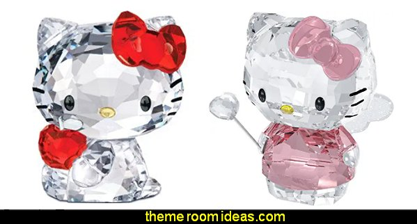 Swarovski Crystal Hello Kitty Figurines  Hello Kitty bedroom ideas - Hello Kitty bedroom decor - Hello Kitty bedroom decorating - Hello Kitty bedroom furniture - Hello Kitty Wallpaper Mural - Hello Kitty