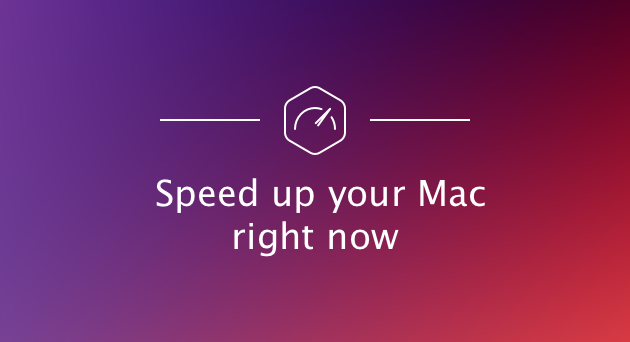 How to speed up my MacBook pro
