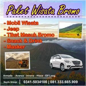 Paket Wisata Bromo bersama Sewa Mobil Malang by NAYFA Group