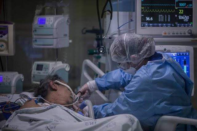 Quase 80% dos brasileiros intubados por conta do Covid-19 morreram em 2020