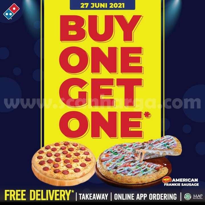 Promo DOMINO'S PIZZA Buy 1 Get 1