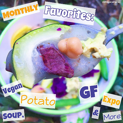 Gluten Free Monthly Favorites: Vegan Potato Soup, Online Gluten Free Expo and More!