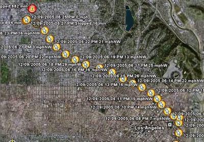 gps logger map