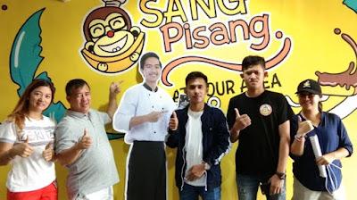 anak presiden jualan pisang