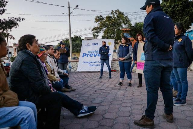 """""""AcciónEs Prevenir"""" reduce incidencia delictiva en colonias participantes"""