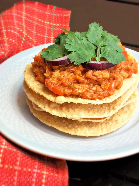 Chipotle Tuna Tostadas - lacocinadeleslie.com