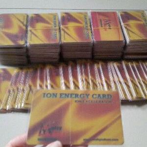 Paket ION ENERGY CARD (Penghemat Listrik / Baterai HP / Bensin