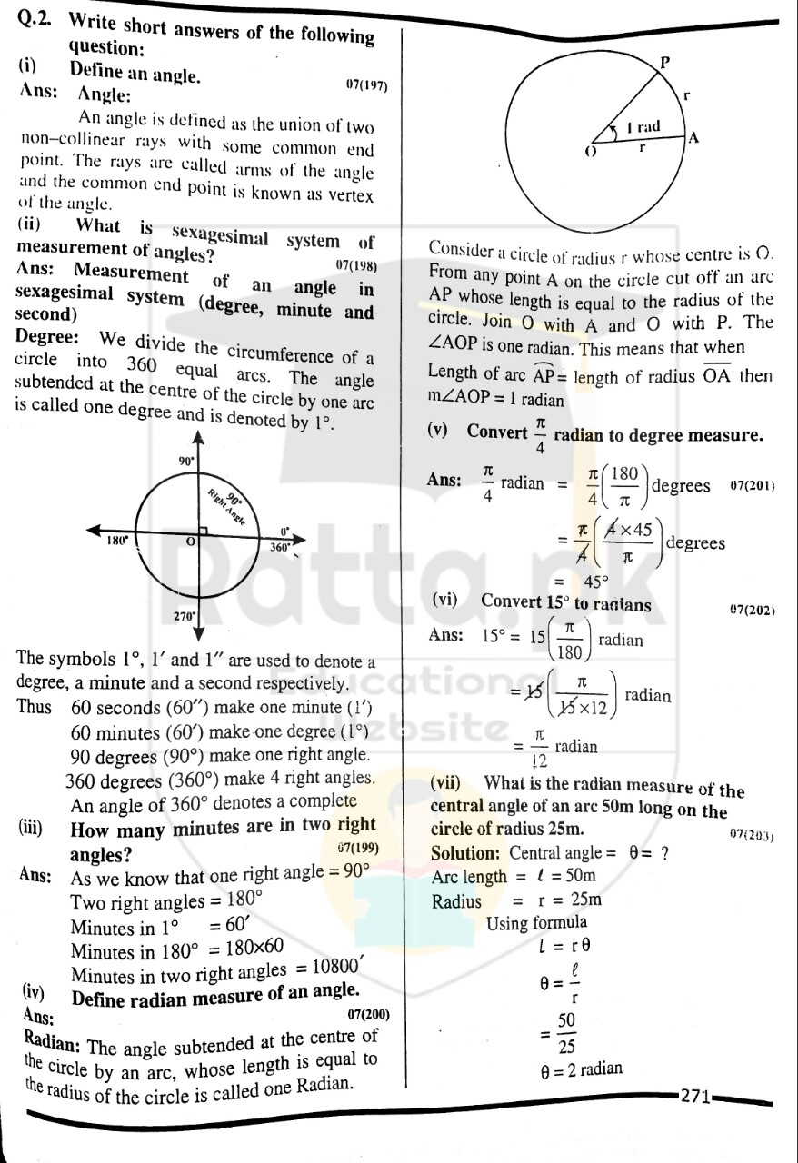 10th Maths Misc. Exercise 6 Solved Obectives 5