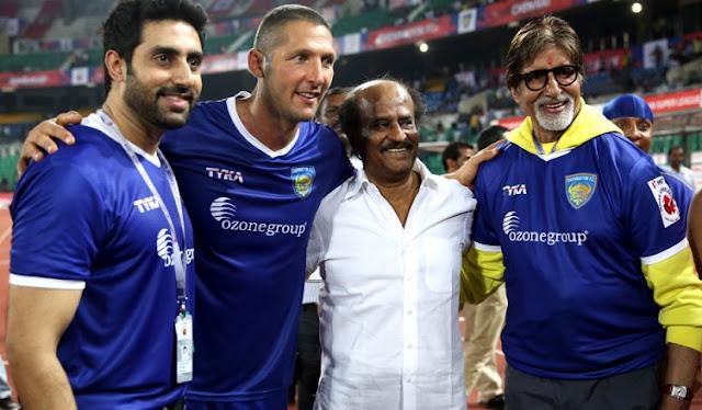Amitabh Bachchan and Abhishek Bachchan visit 2.0 set - Mythgyaan