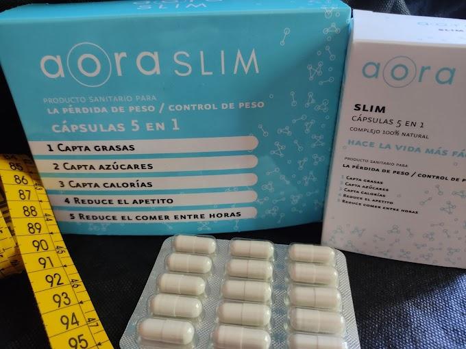 """Pierde y controla tu peso con """"aora Slim"""""""