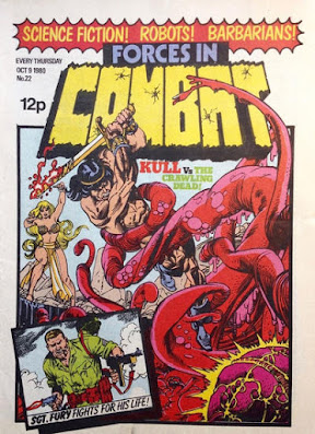Forces in Combat #22, King Kull