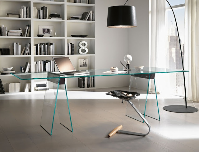 best buying glass home office desks in Calgary for sale