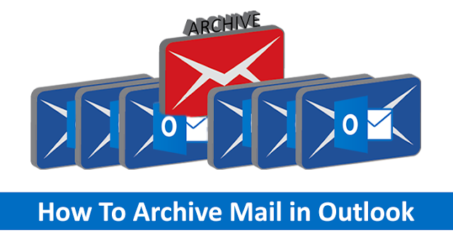 how to create archive in outlook 2016