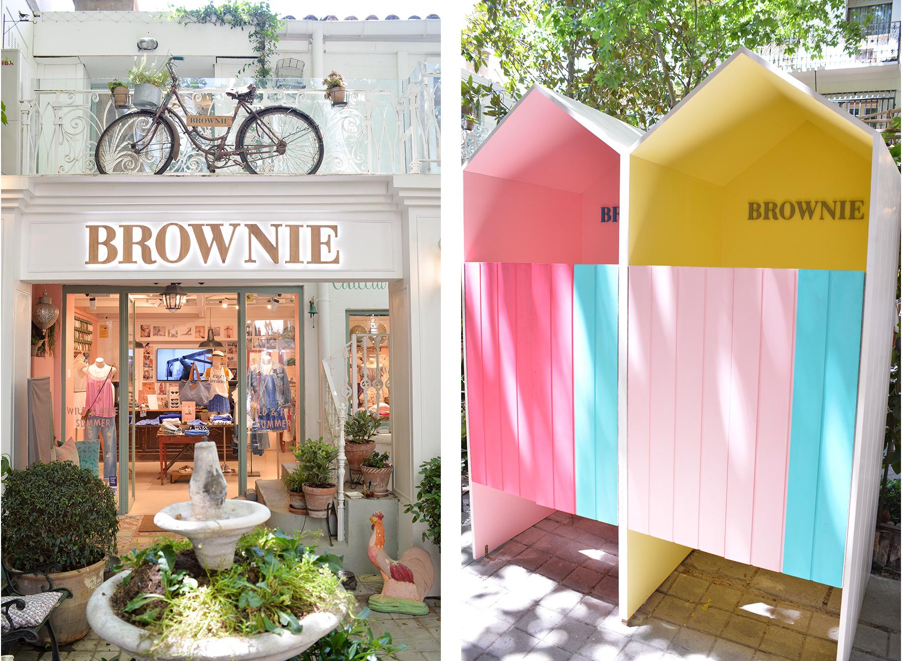 Brownie shop
