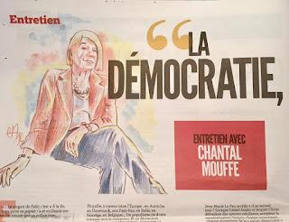 Dans le Fakir du moment... Portrait de Chantal Mouffe ©Guillaume Néel