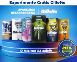 Cadastro Gillette Experimente Grátis Aparelhos Recarregáveis 2021