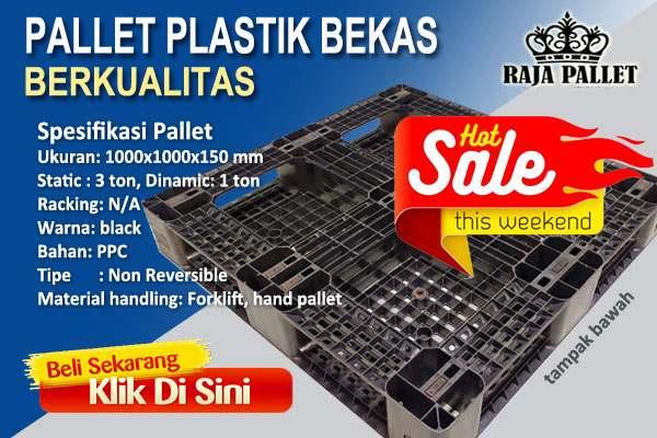 pallet plastik bekas berkualitas