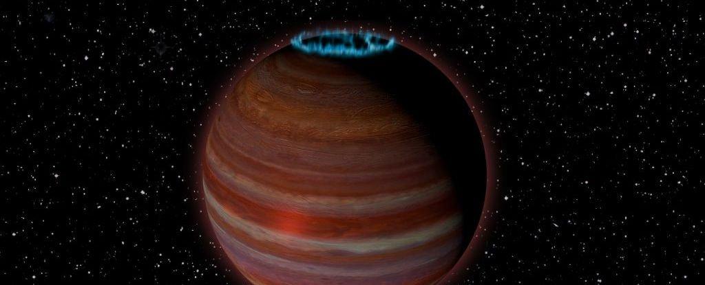 Ilustração do novo planeta descoberto por pesquisadores