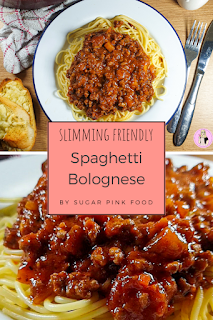 Best Spaghetti Bolognese recipe slimming world