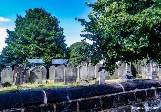 Liverpool: Cemitério de Woolton onde está o túmulo de Eleanor Rigby