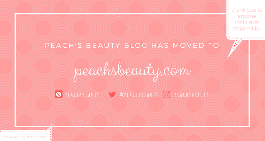 Peach's Beauty has moved to peachsbeauty.com!