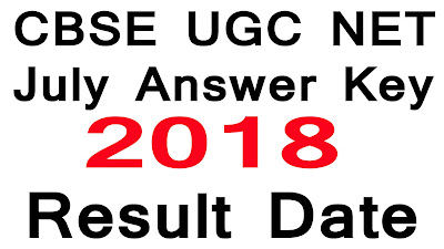 CBSE UGC NET answer key and result