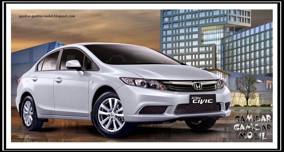 Gambar Mobil Civic 2008 Hitam