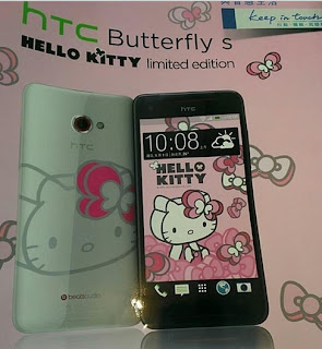 HTC Butterfly S, HTC Butterfly S Hello Kitty, Mobileweb tips