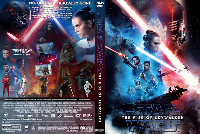 Star Wars: Episode IX - The Rise of Skywalker DVD Cover